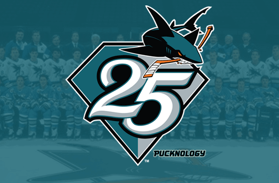 San Jose Sharks Celebrating 25 Years in 2016