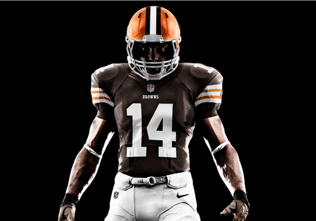 New Browns Uniforms to Have Nine Different Colour Combos