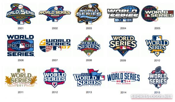 2001-2015 World Series Logos