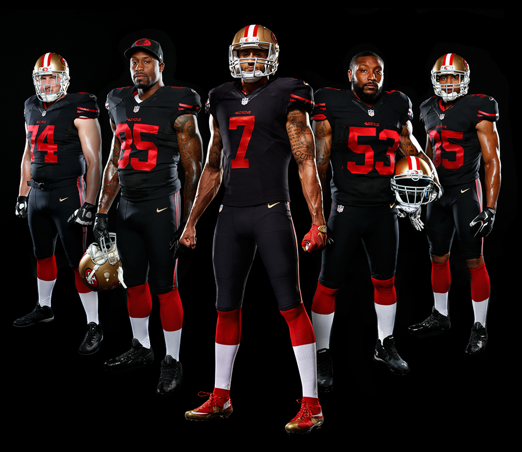 The San Francisco 49ers Will Be Wearing A Black Alt This Season Sportslogos Net News