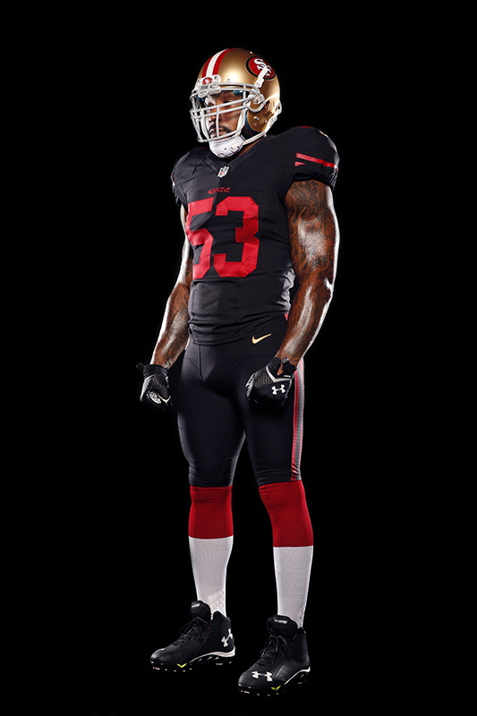 1d32d8014d4 The San Francisco 49ers will be wearing a black alt this season ...