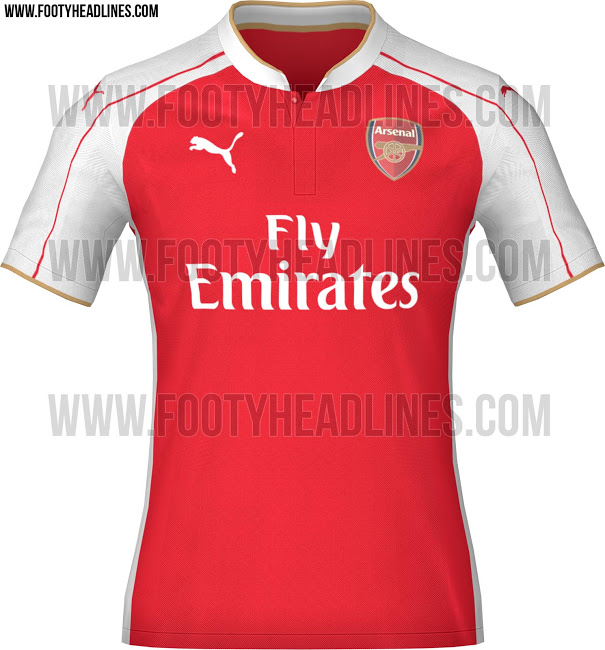 buy online ae794 53179 Manchester United and Arsenal 2015-16 Kits Leak | Chris ...