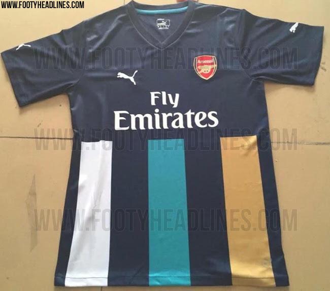 9f0c0ef55d Manchester United and Arsenal 2015-16 Kits Leak