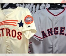 Astros Angels Throwbacks