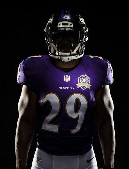 Baltimore Ravens Unveil 20th Season Patch Sportslogos Net News