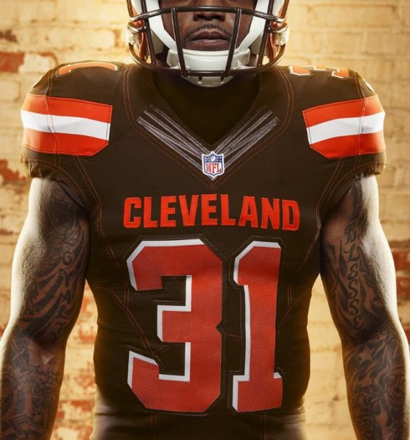 "competitive price 6725a 6d20b Cleveland Browns Swap Uniforms, ""ColorRush"" Now Primary Home ..."