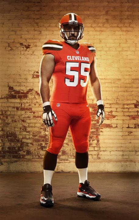cc3e9fb91 Cleveland Browns complete identity revamp with uniform unveiling ...