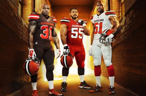 cleveland browns color rush jersey