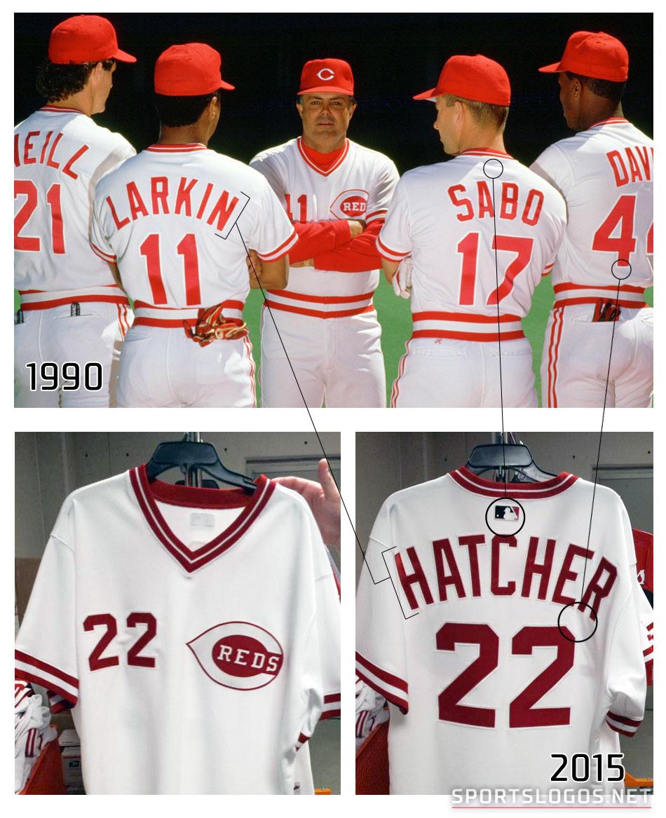 e5ea3b15f Cincinnati Reds 1990 Throwback Uniforms