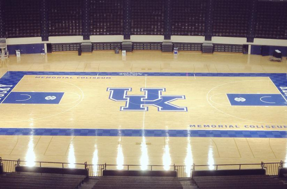 Kentucky reveals *new* primary logo on new court design