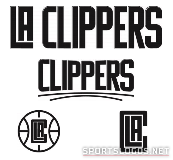 LA Clippers New Logos Trademarks