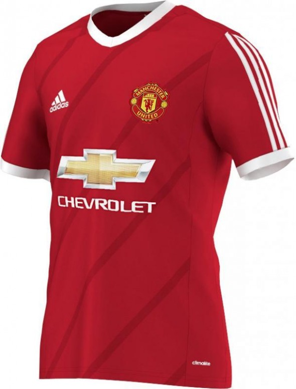 Man U 2015 Home Kit