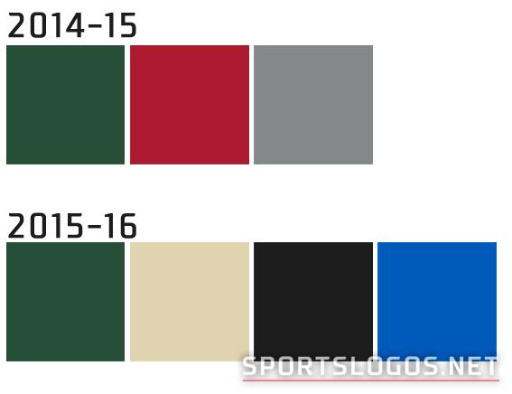 Milwaukee Bucks Colour Compare