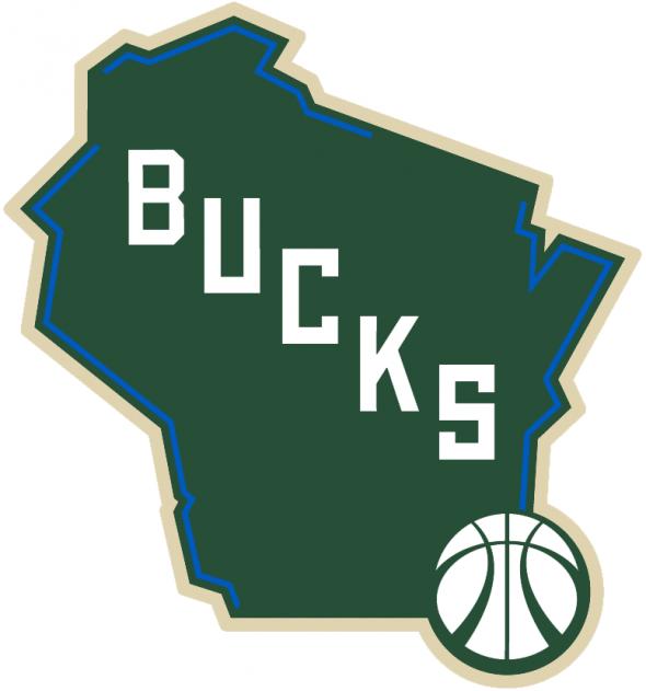 Milwaukee Bucks New Alternate Logo 2015-16 2