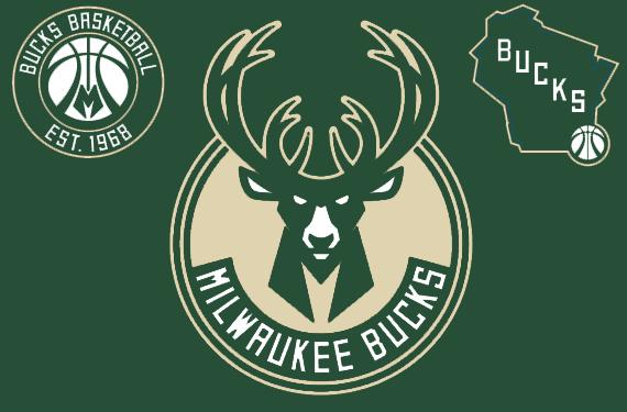 Milwaukee Bucks New Logos 2015-2016 feat