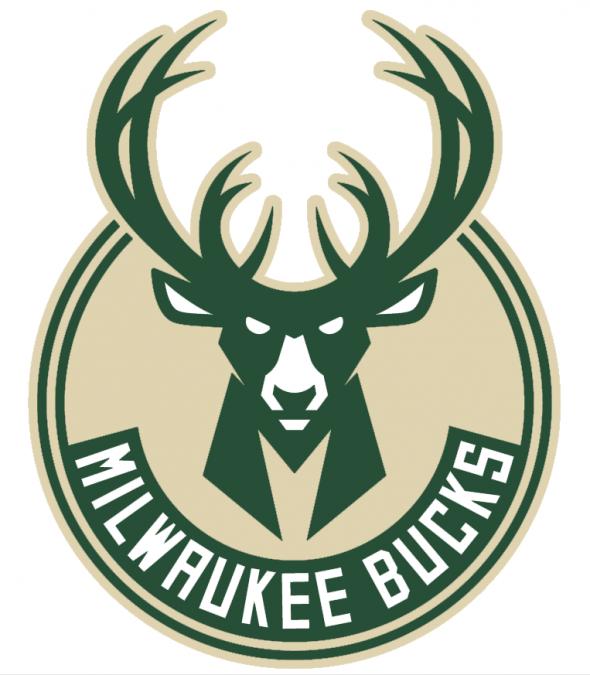 Milwaukee Bucks New Primary Logo 2015-16