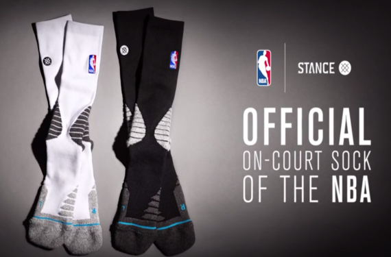 d0f7d5172 Stance will be the official sock of the NBA  Teams will wear socks ...