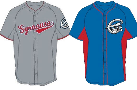 Syracuse Chiefs Unveil New Uniforms