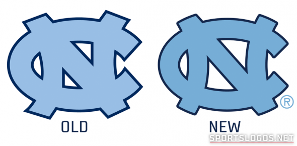 UNC Logos Old vs New