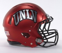 UNLV Red Helmet