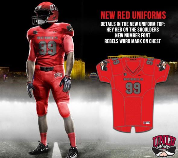 official photos 091b4 d10d1 Sin City Pride! UNLV Unveils New Football Uniforms | Chris ...