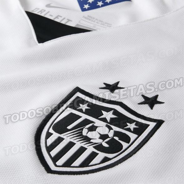 US Soccer 2015 Home Crest
