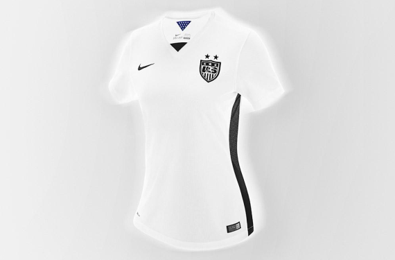 U.S. Soccer unveils new black, white, and volt-colored home kit