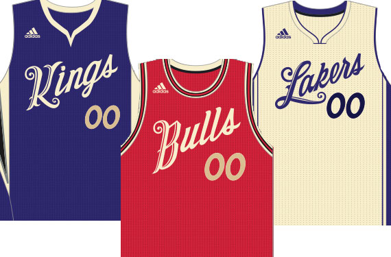 ab2d5b82729 NBA Goin Old School For Christmas 2015 Uniforms | Chris Creamer's ...