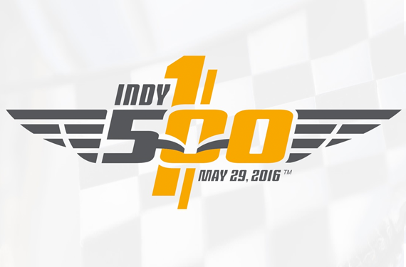Indy 500 Unveils 100th Race Logo for 2016