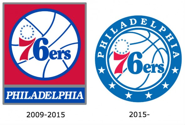 76ers old and new