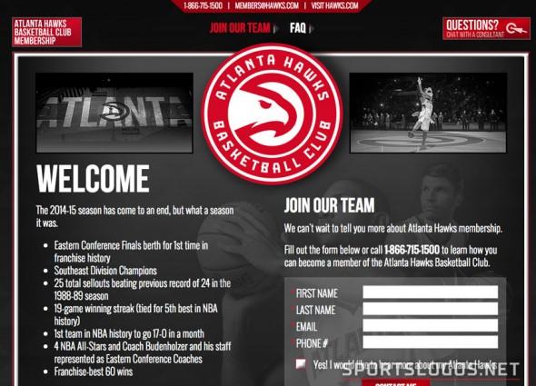 Atlanta Hawks Website Leak New Logo