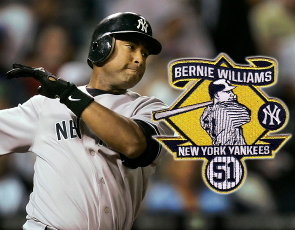 promo code 41fd7 5aee5 Yankees to Wear Bernie Williams Patch on May 24th | Chris ...