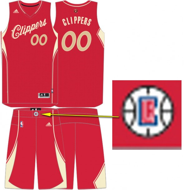Clippers Christmas Uniform 2015