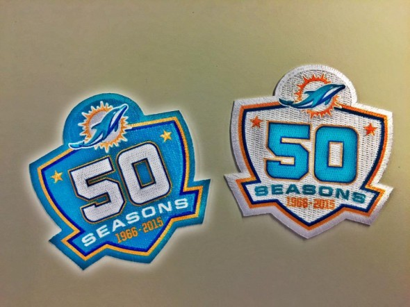 Dolphins Patch
