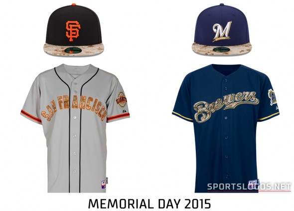 Giants at Brewers