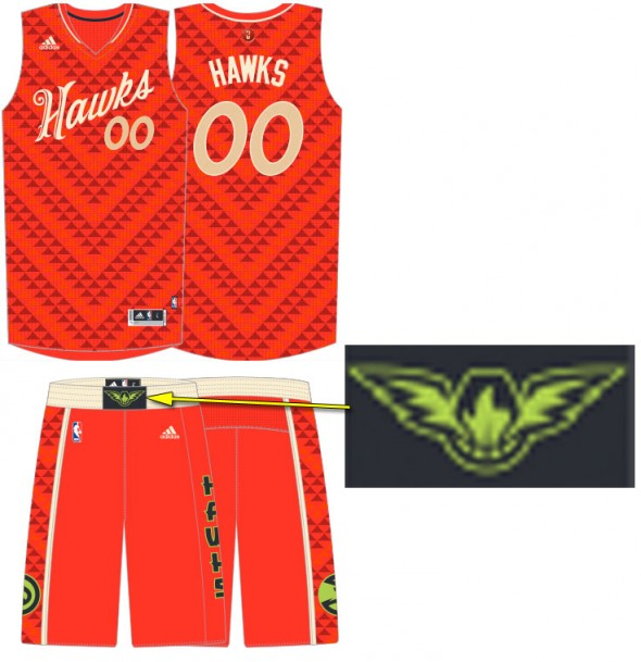 Hawks Christmas Uniform 2015