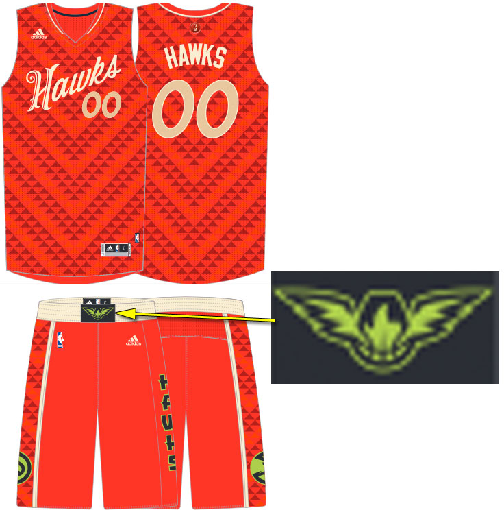 5c2d97aa4 Hawks Christmas Uniform 2015. Written By  Chris Creamer ...