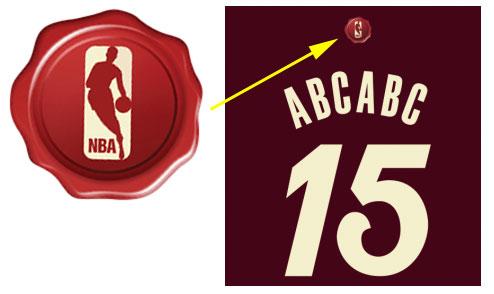 NBA Stamp Christmas Jersey 2015