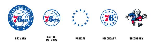 New 76ers Logos