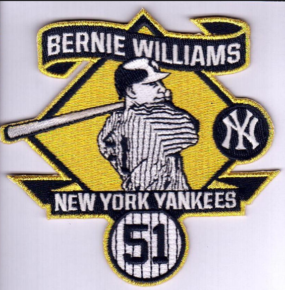 Yankees to Wear Bernie Williams Patch on May 24th
