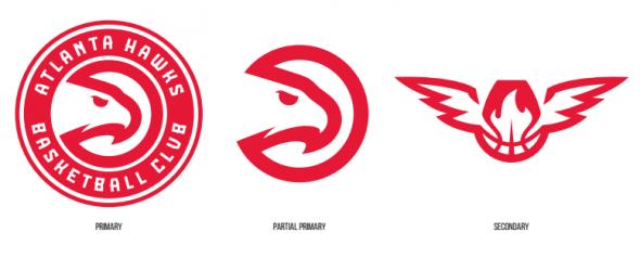 Atlanta Hawks New Logo 3