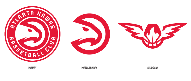 54e0b7931 Atlanta Hawks officially unveil new logos