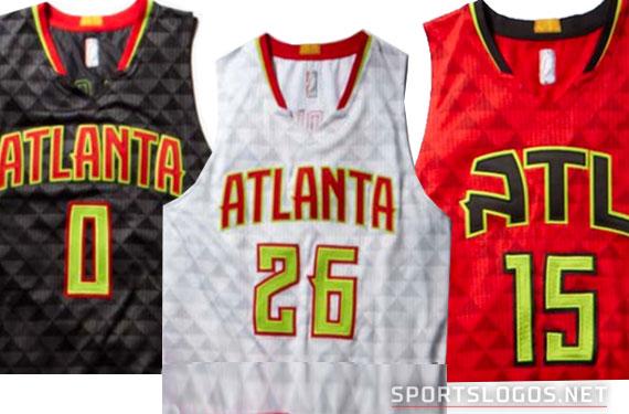 Atlanta Hawks New Uniforms
