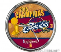 Clock Cleveland Cavs Phantom 2015 NBA Champs