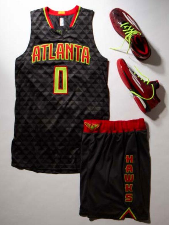 Hawks New Road Uniform