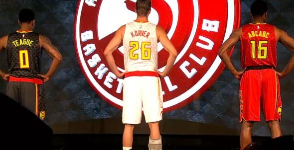Hawks New Uniforms Back