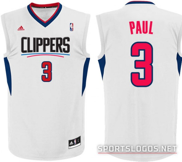 LA Clippers New Home Jersey