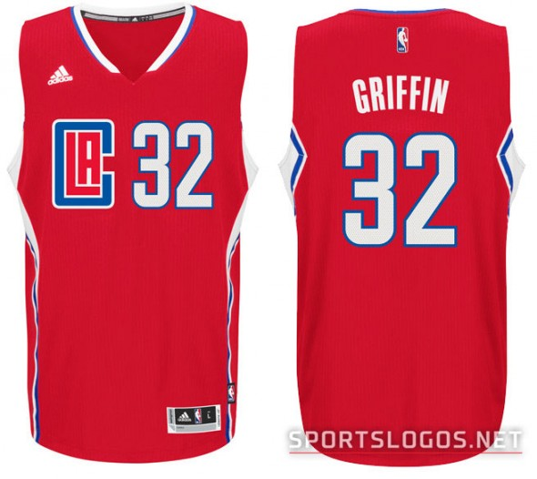 LA Clippers New Road Jersey