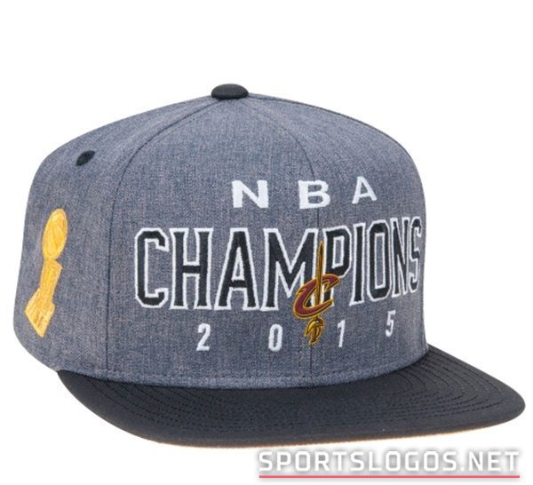 Locker Room Cap Cleveland Cavs Phantom 2015 NBA Champs