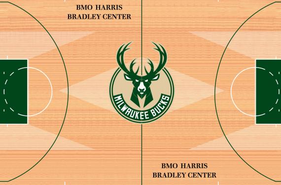 e29d869d Milwaukee Bucks reveal new court design. Written By: Demetrius Bell •  Wednesday, June 24, 2015. MILBucksCourt1516 2